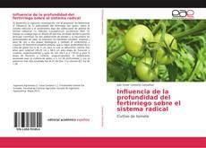 Buchcover von Influencia de la profundidad del fertirriego sobre el sistema radical
