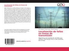 Buchcover von Localización de fallas en líneas de transmisión