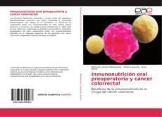 Borítókép a  Inmunonutrición oral preoperatoria y cáncer colorrectal - hoz