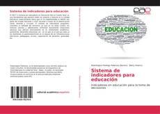 Sistema de indicadores para educación kitap kapağı
