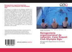 Portada del libro de Reingeniería organizacional de natación. Caso Raquet Club Olympia Dgo.