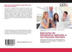 Ejercicios de Estadística aplicada a las Ciencias Sociales kitap kapağı