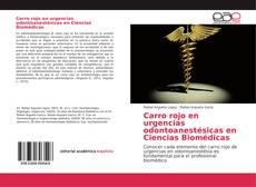 Portada del libro de Carro rojo en urgencias odontoanestésicas en Ciencias Biomédicas
