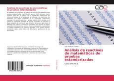 Portada del libro de Análisis de reactivos de matemáticas de pruebas estandarizadas