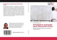 Estadística avanzada para Educación Física kitap kapağı