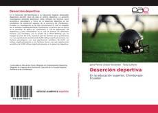 Portada del libro de Deserción deportiva