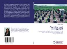 Buchcover von Powering rural development