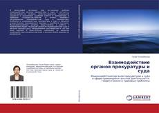 Bookcover of Взаимодействие органов прокуратуры и суда