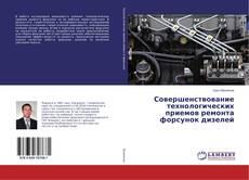 Bookcover of Совершенствование технологических приемов ремонта форсунок дизелей