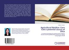 Bookcover of Agricultural Residue: Corn Cob-a potential source of Silica