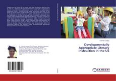 Borítókép a  Developmentally Appropriate Literacy Instruction in the US - hoz