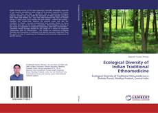 Portada del libro de Ecological Diversity of Indian Traditional Ethnomedicine