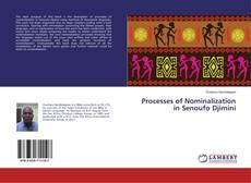 Processes of Nominalization in Senoufo Djimini kitap kapağı