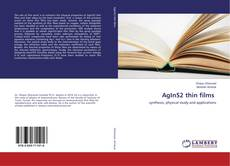 Bookcover of AgInS2 thin films