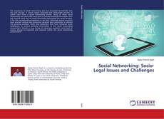 Social Networking: Socio-Legal Issues and Challenges的封面