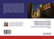 Copertina di Health Communication Experiences of an Arab Community in Canada