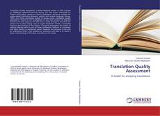 Bookcover of Translation Quality Assessment