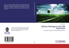 Portada del libro de African Heritage in the Old Testament