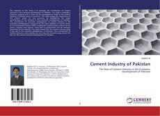 Bookcover of Cement Industry of Pakistan