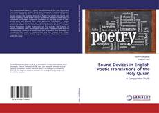 Buchcover von Sound Devices in English Poetic Translations of the Holy Quran