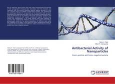 Capa do livro de Antibacterial Activity of Nanoparticles