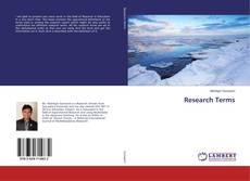 Research Terms kitap kapağı