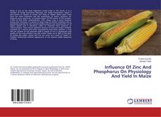 Buchcover von Influence Of Zinc And Phosphorus On Physiology And Yield In Maize