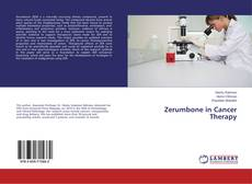 Capa do livro de Zerumbone in Cancer Therapy