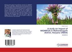 Copertina di A study on impact of MGNREGA in Mahendragarh district, Haryana (INDIA)