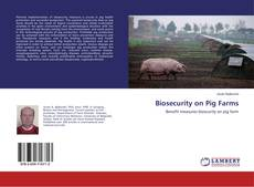 Bookcover of Biosecurity on Pig Farms