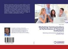 Marketing Communications & Performance of Financial Institutions kitap kapağı