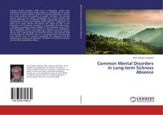 Common Mental Disorders in Long-term Sickness Absence kitap kapağı