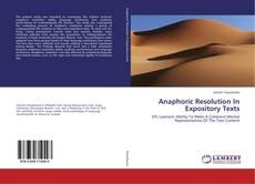 Anaphoric Resolution In Expository Texts kitap kapağı