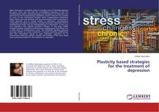 Bookcover of Plasticity based strategies for the treatment of depression