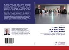 Психология политических консультантов kitap kapağı