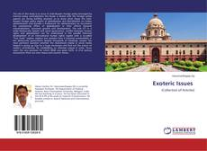Capa do livro de Exoteric Issues