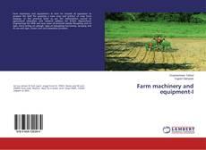 Farm machinery and equipment-I kitap kapağı
