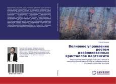 Capa do livro de Волновое управление ростом двойникованных кристаллов мартенсита