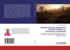 Bookcover of Climate Change Adaptation Projects' Efficacy in Enhancing Livelihoods