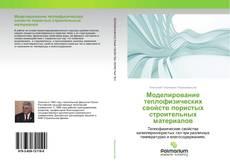 Моделирование теплофизических свойств пористых строительных материалов kitap kapağı