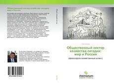 Обложка Общественный сектор хозяйства сегодня: мир и Россия