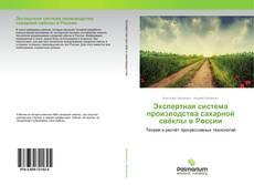 Bookcover of Экспертная система производства сахарной свёклы в России