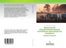 Capa do livro de Адаптивная ресурсосберегающая технология производства говядины