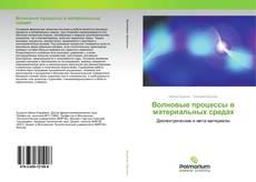 Волновые процессы в материальных средах kitap kapağı