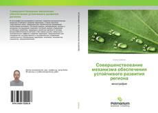 Portada del libro de Совершенствование механизма обеспечения устойчивого развития региона