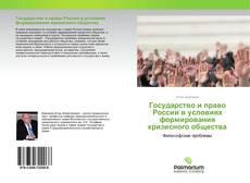 Государство и право России в условиях формирования кризисного общества kitap kapağı