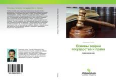 Bookcover of Основы теории государства и права