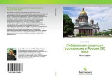 Либеральная рецепция социализма в России XIX века的封面