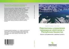 Обложка Перспективы управления природным капиталом в Республике Казахстан