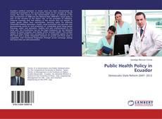 Обложка Public Health Policy in Ecuador